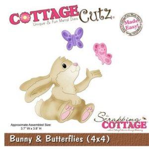 Bunny & Butterflies