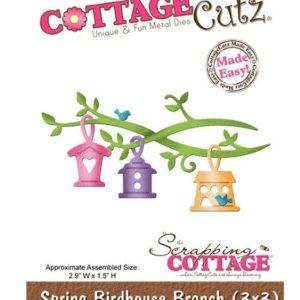 Spring Birdhouse Branch