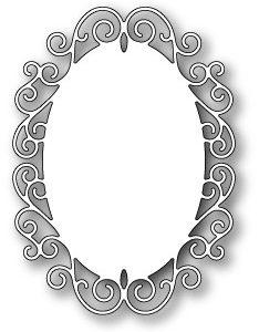 Claudette Oval Frame