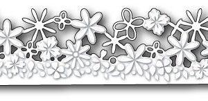 Confetti Floral Border