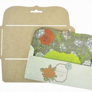 DL Bracket Envelope Template