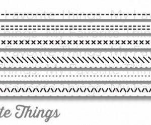 Basic Stitch Lines Dies