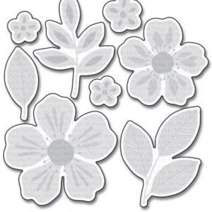 Flashy Florals Dies