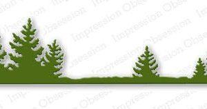 Fir Tree Border Die