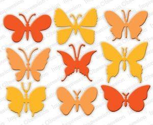Medium Butterflies Dies