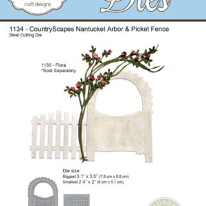 CountryScapes - Nantucket Arbor & Picket Fence