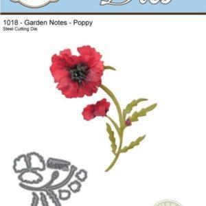 Garden Notes - Poppy