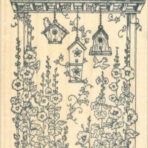 Arbor with Birdhouses
