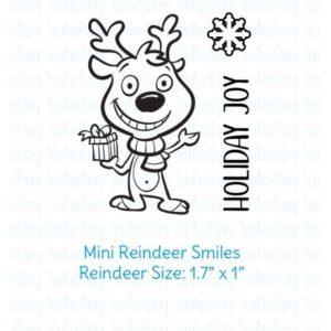 Mini Reindeer Smiles