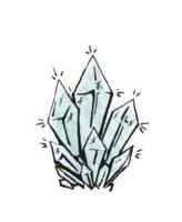 Kristall klein