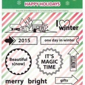 Happy Holidays - I Love Winter