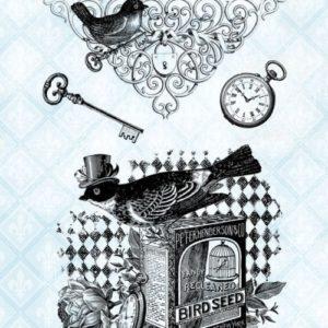 Bird Vignettes Stamp Set