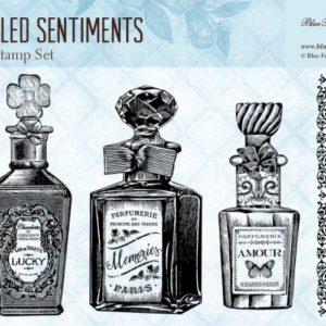 Bottled Sentiments Stamp Set