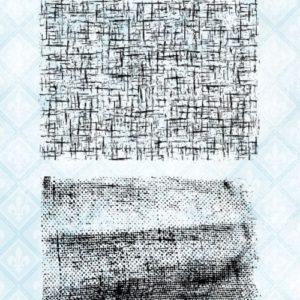 Coarse Fabrics Stamp Set