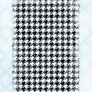 Houndstooth Grunge Stamp Set