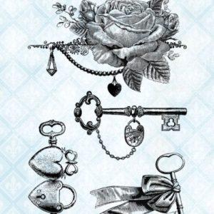 Key to my Heart Stamp Set