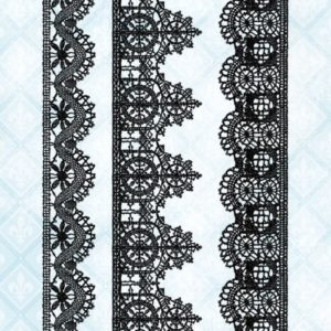 Lace Borders Stamp Set