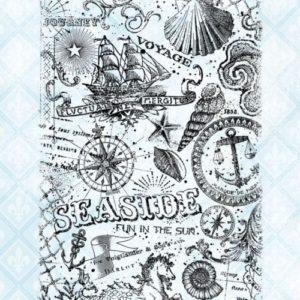 Seaside Collage Stamp Set