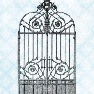 Swan Gate Stamp Set