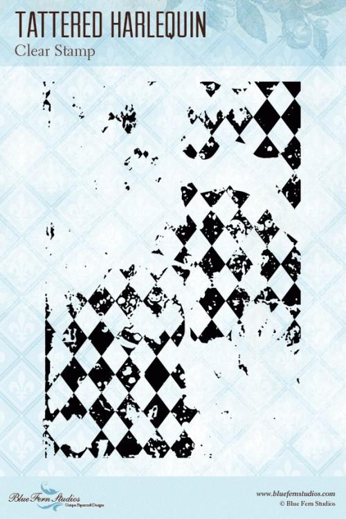 Tattered Harlequin Stamp Set