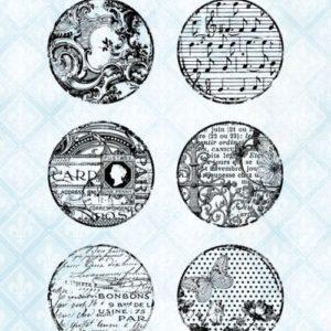 Texture Circles Stamp Set