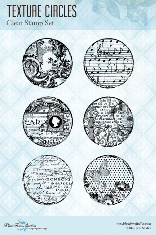 Texture Circles Stamp Set