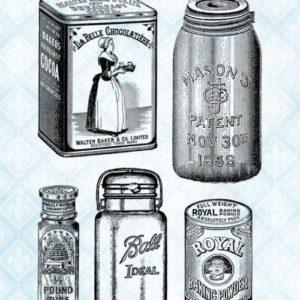 Victorian Goods Stamp Set