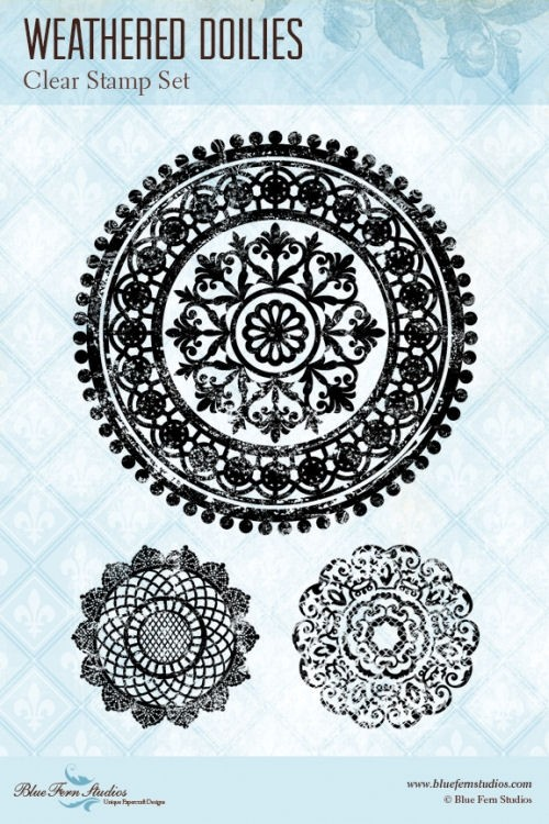 Weathered Doilies Stamp Set