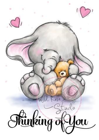Bella with Teddy