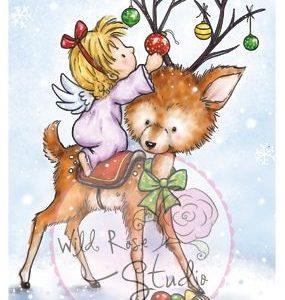 Angel on Reindeer