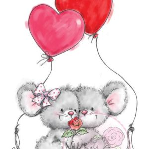 Mice with Balloons
