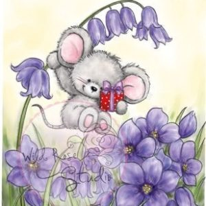 Mouse on Bluebell