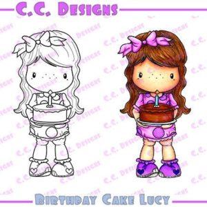 Birthday Cake Lucy