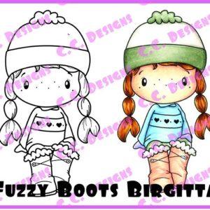 Fuzzy Boots Birgitta