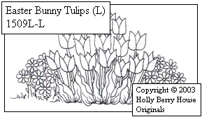 Easter Bunny Tulips large