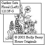 Garden Gate Floral (left)