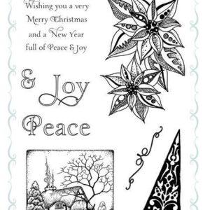 Joyful Christmas - Clear