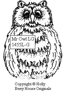 Mr. Owl, large