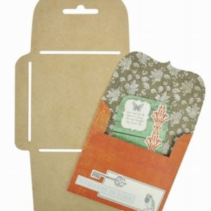 Square Bracket Sm. Envelope Template