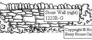 Stone Wall, right