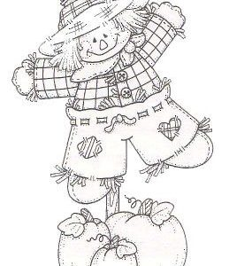 Scarecrow on a Pole