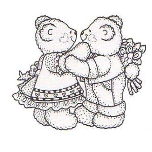 Tiny Kissing Bears NEU