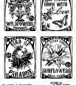 Vintage Seed Packets 2