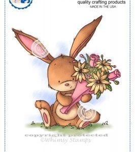 Flower Bouquet Bunny