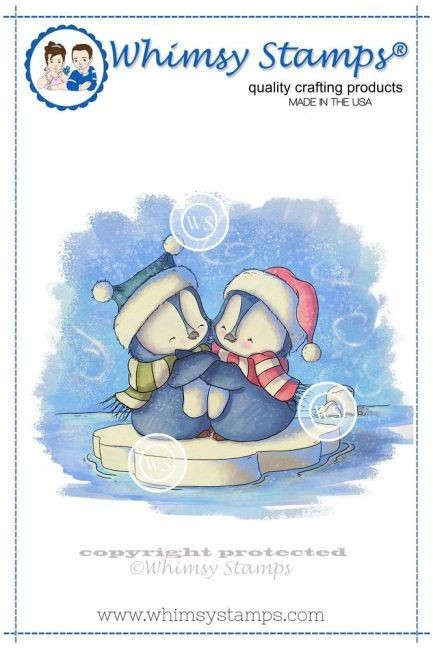 Penguins Hugging