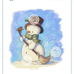 Snowman and Friend