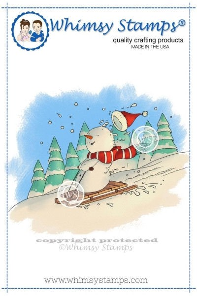 Snowman's Sled Ride