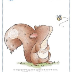 Squirrel and Bumblebee