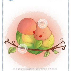 Sweet Lovebirds