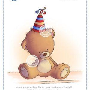 Teddy Birthday Hat